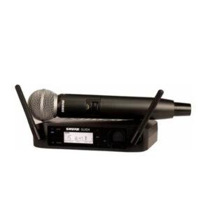 MICROFONO INALAMBRICO DIGITAL PARA VOZ SHURE- GLXD24/SM58