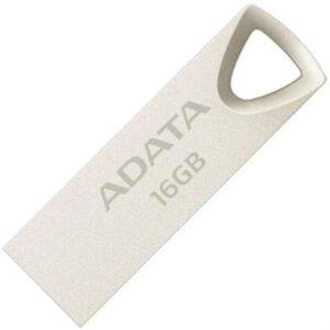 Memoria USB Adata UV210 16 GB Metálica Color Plata
