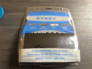 Dynex - Interruptor selector de S-Video A / V - Swich