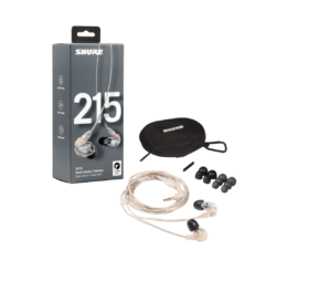 AUDIFONOS IN-EAR SE215-CL SHURE